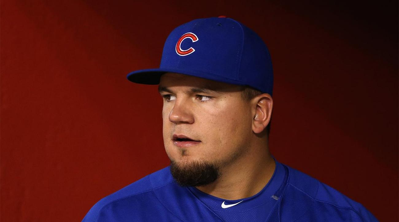 Kyle Schwarber on Cubs' World Series roster IMAGE