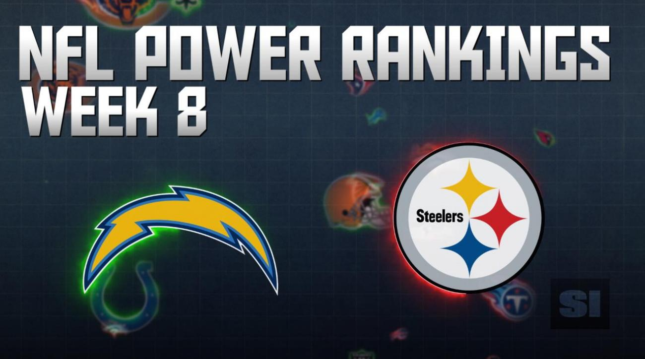 NFL Power Rankings: Week 8