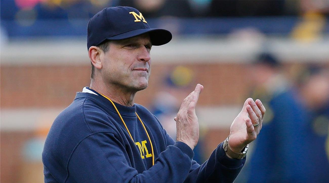 Michigan's Jim Harbaugh leads college football coaches in salary