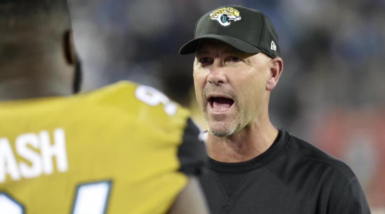 Jaguars owner says he is not firing Gus Bradley at this time