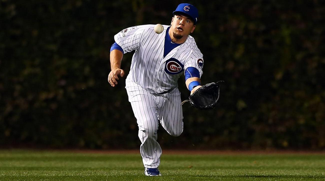 Cubs' Kyle Schwarber not cleared to play outfield