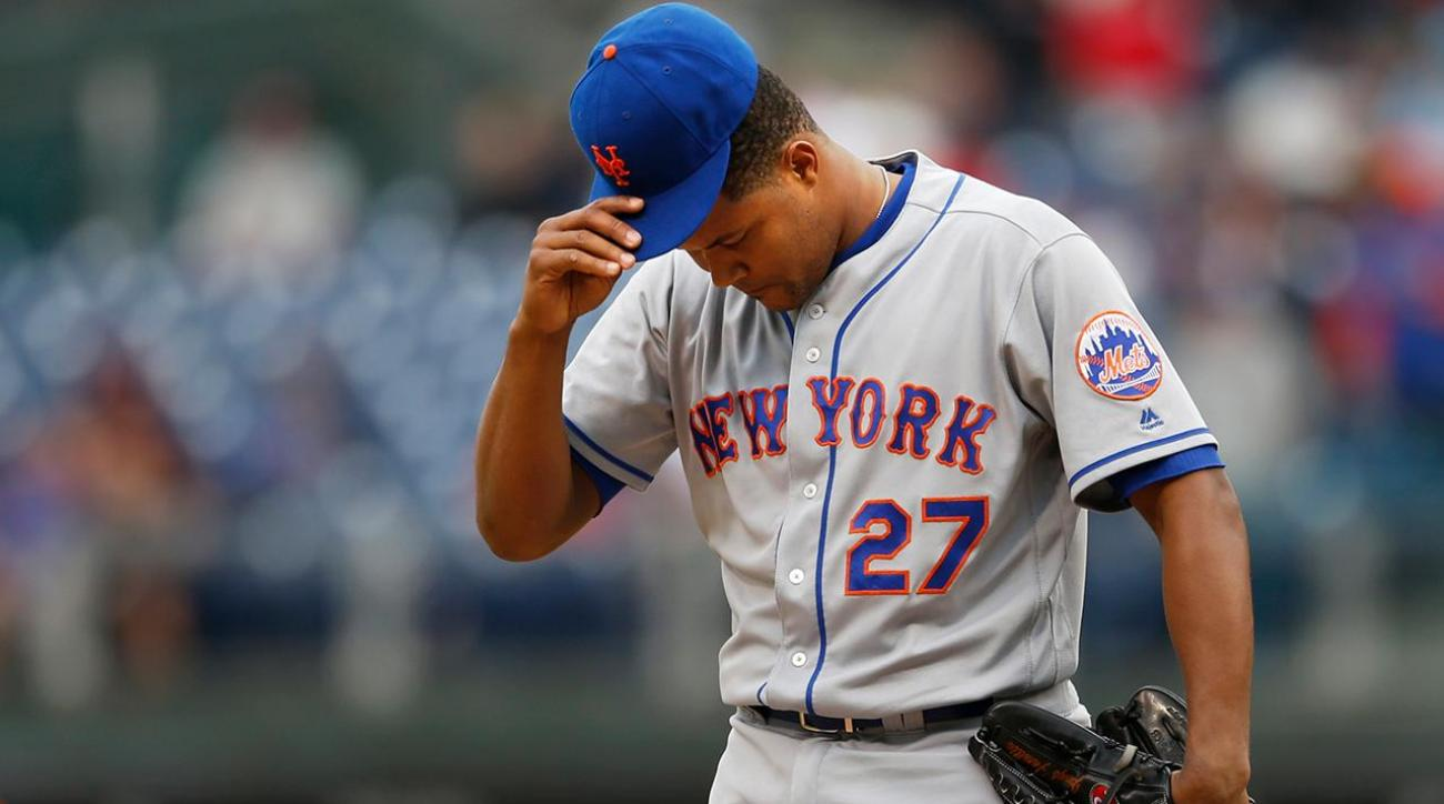 Mets' Jeurys Familia arrested on domestic violence charge