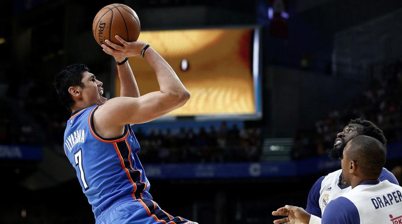 76ers trade Jerami Grant to Thunder for Ersan Ilyasova, draft pick
