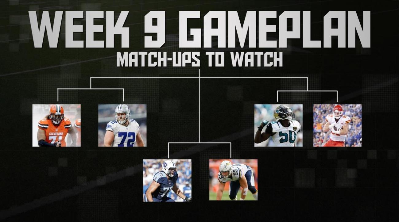 NFL's Week 9 Gameplan