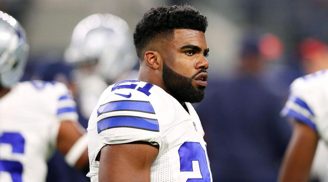 Cowboys 'very comfortable' with Elliott's domestic violence story