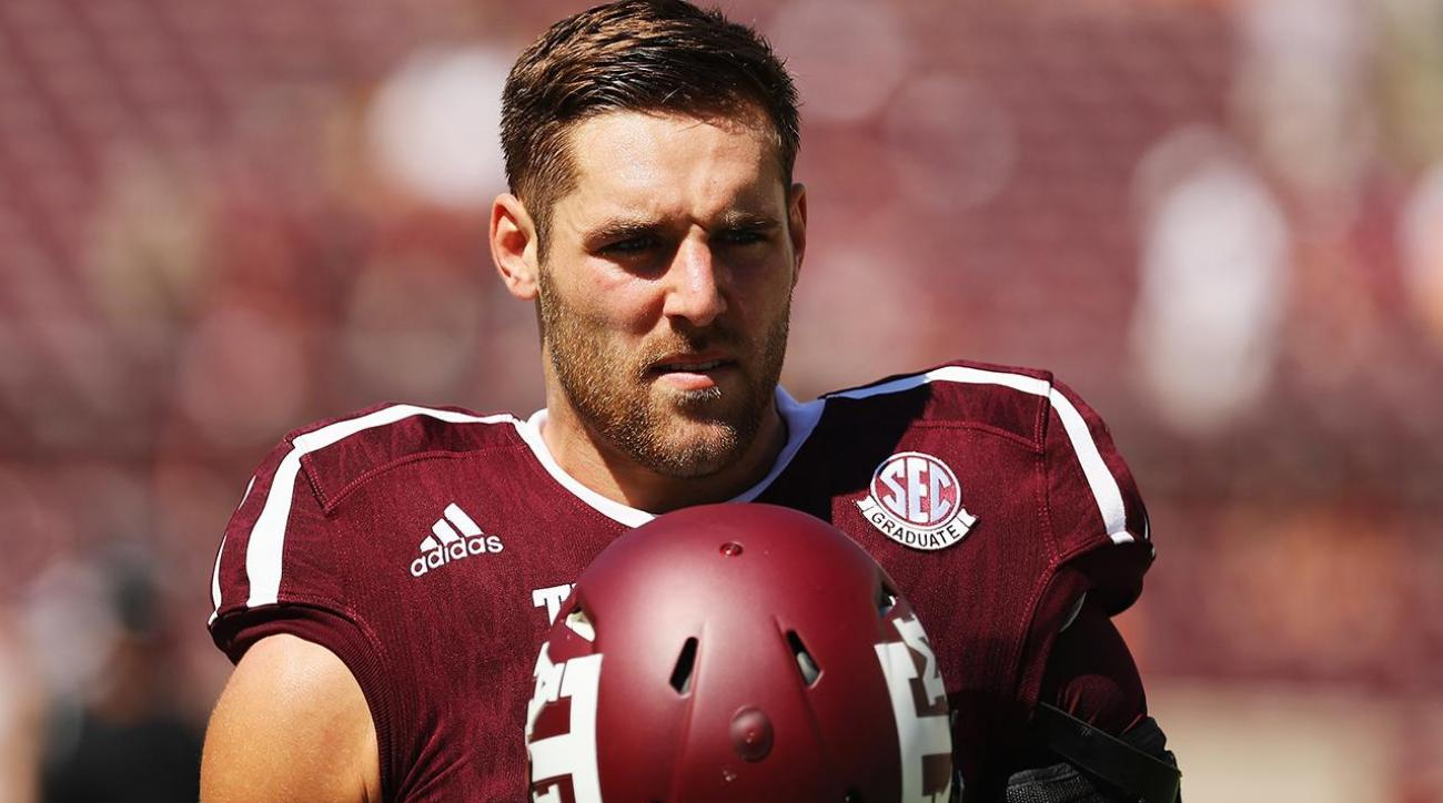 Texas A&M quarterback Trevor Knight out for season with shoulder injury IMAGE