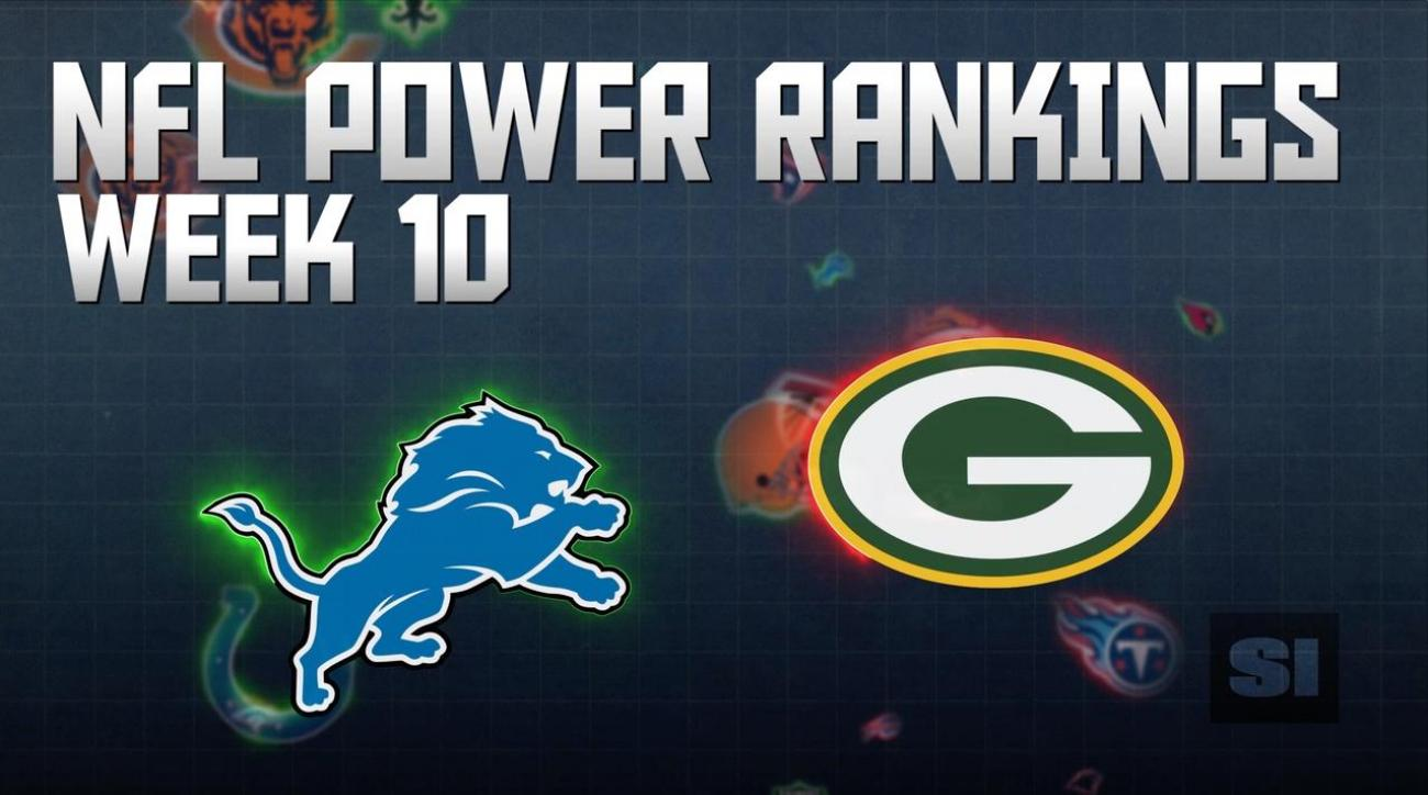 NFL Power Rankings: Week 10