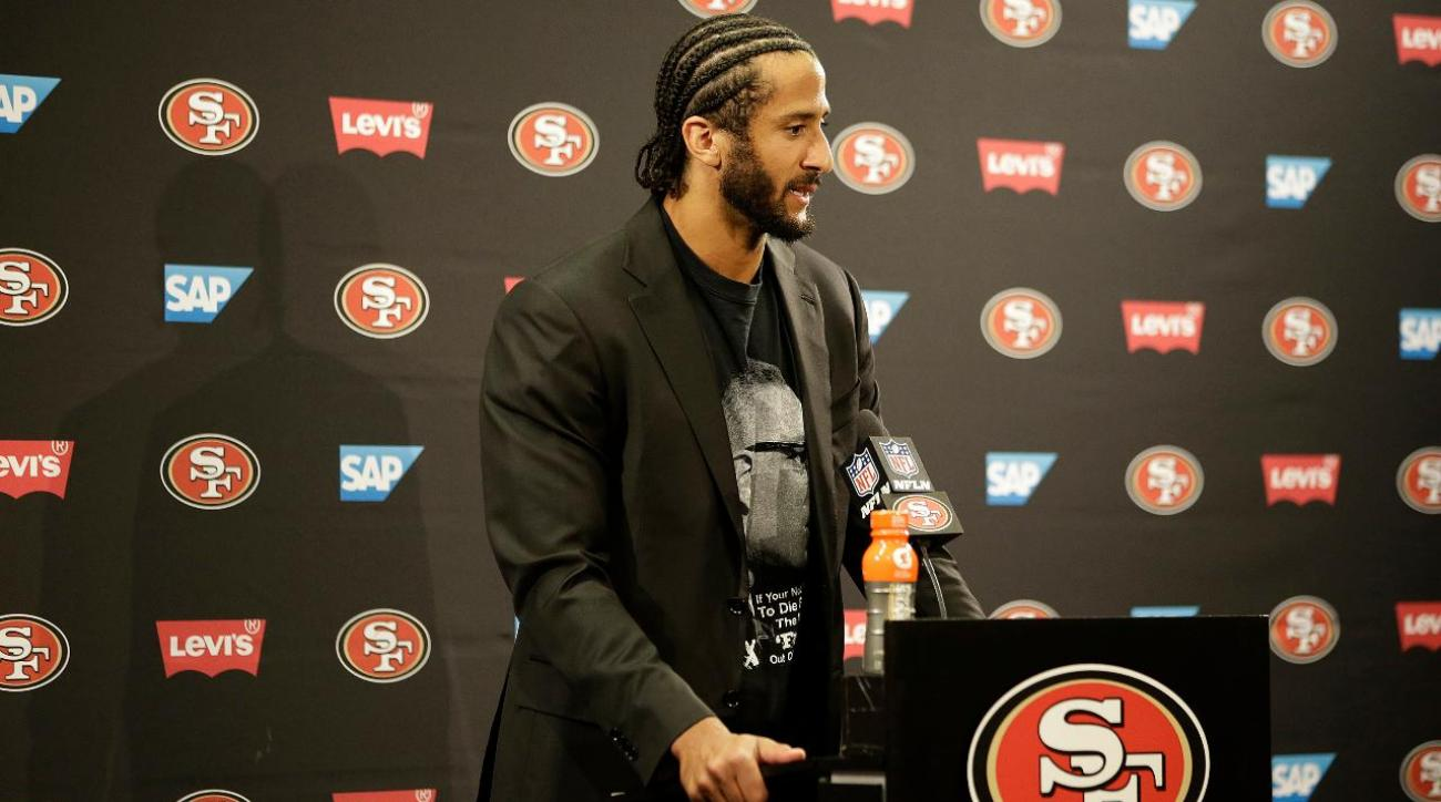 Colin Kaepernick says he isn't voting in the election