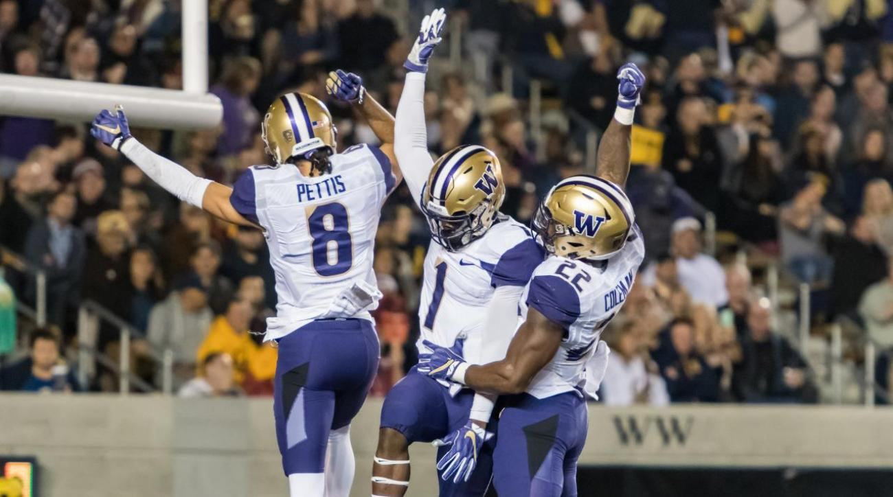 College Football Playoff Rankings: Washington cracks top four