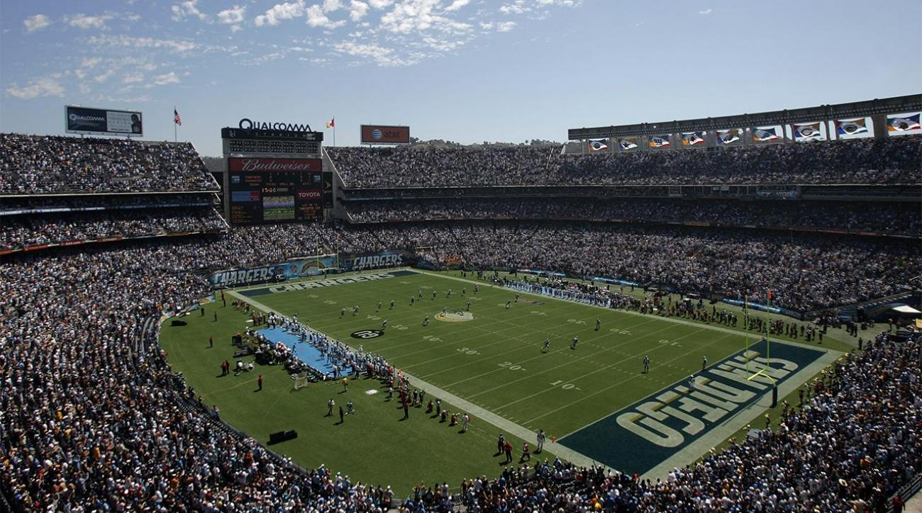 San Diego Chargers stadium vote fails