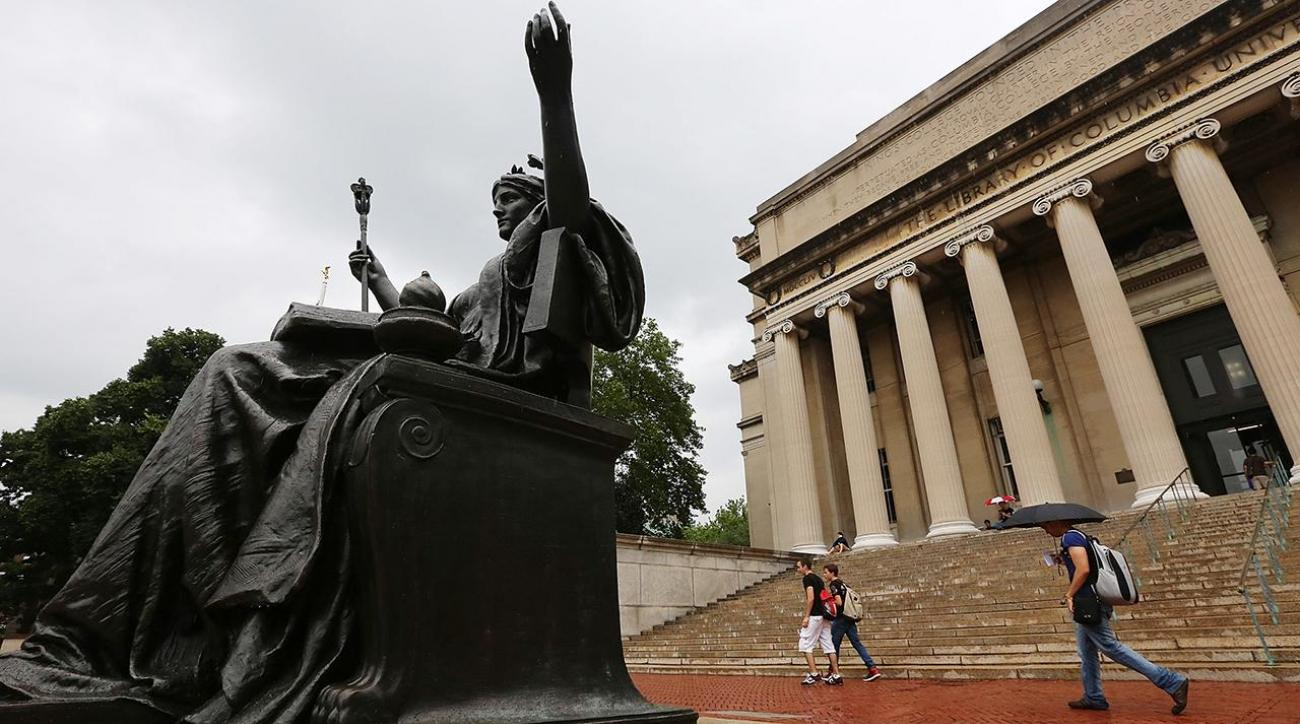 Columbia suspends wrestling team over lewd texts