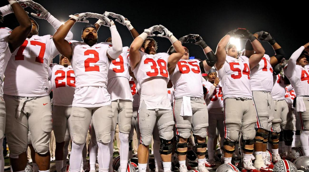 Alabama, Ohio State, Michigan, Clemson top third College Football Playoff rankings