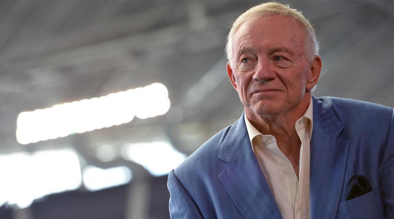 Jerry Jones again downplays link between football, brain trauma