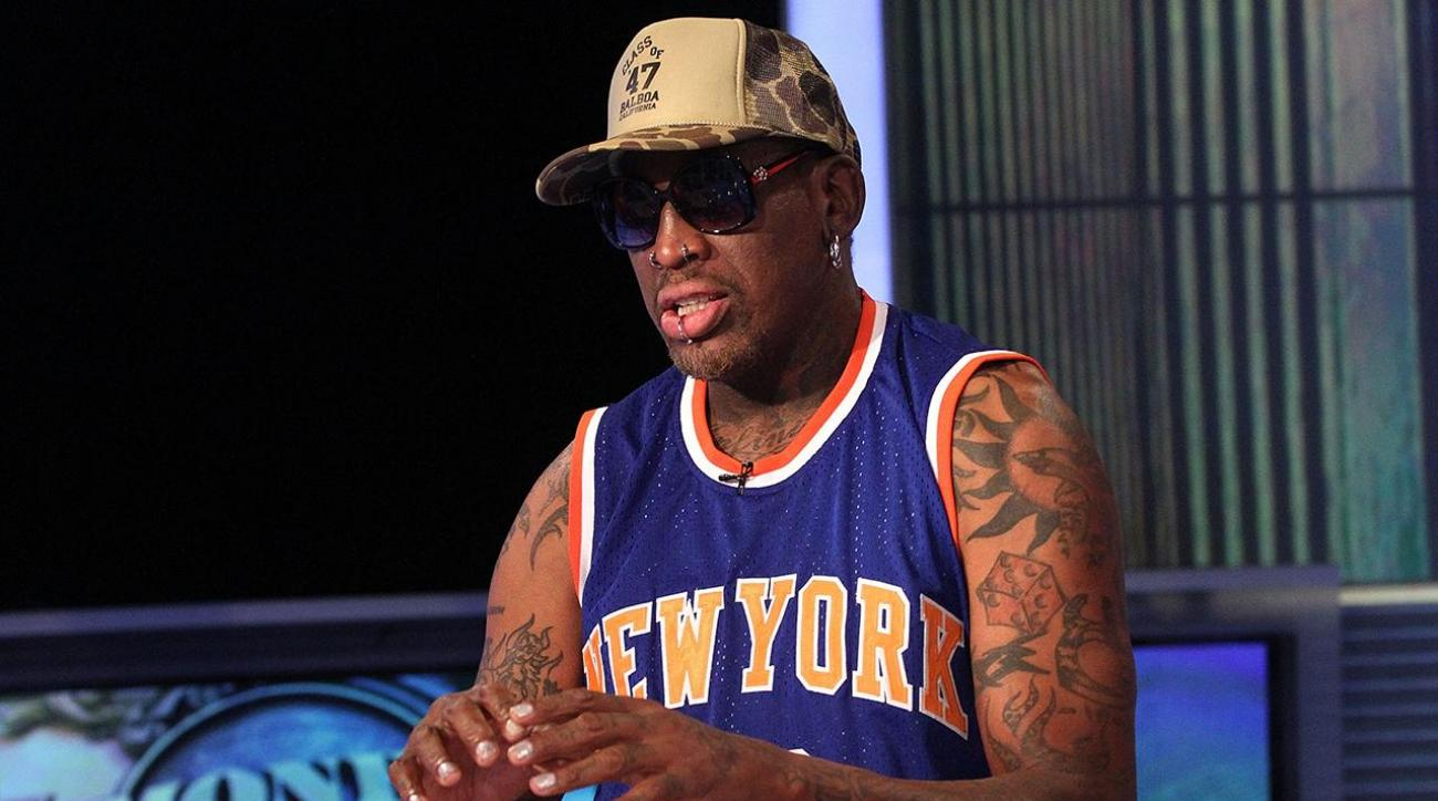 Dennis Rodman charged with hit-and-run for freeway crash IMAGE