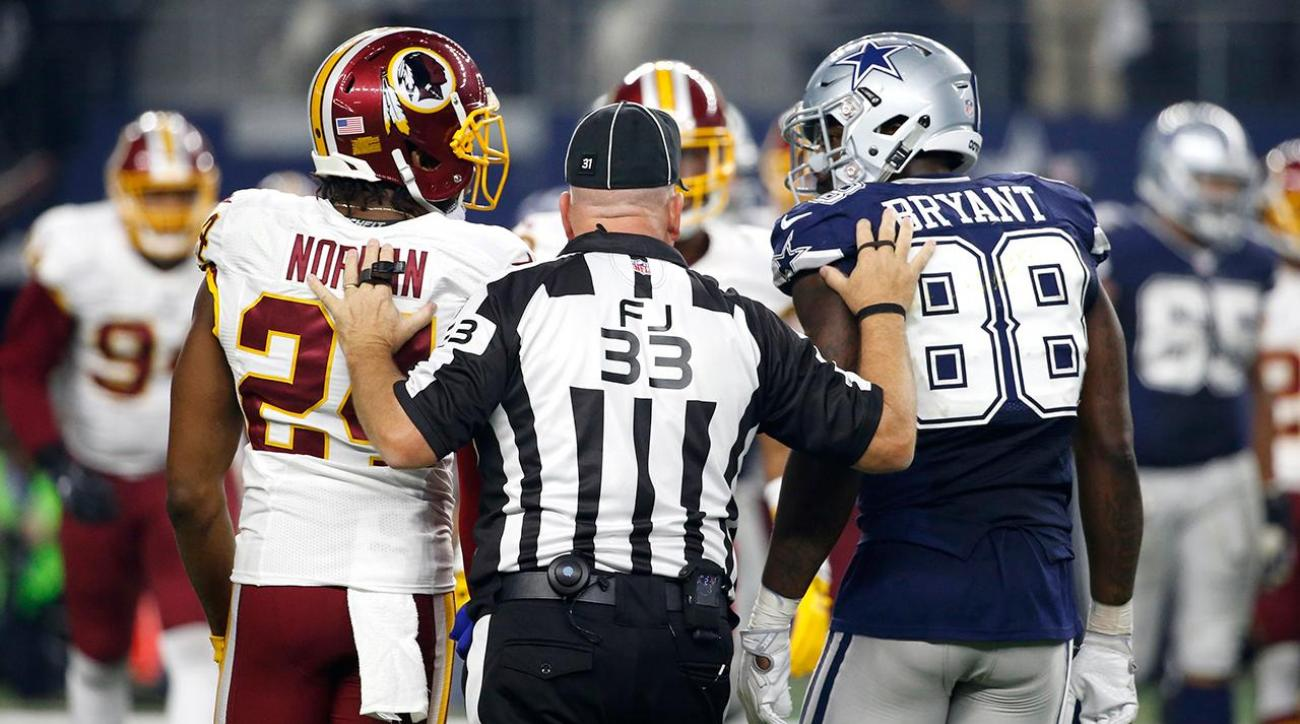 Dez Bryant plans to roast Josh Norman on Twitter all week