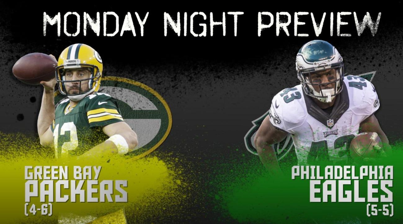 Monday Night preview: Packers vs. Eagles