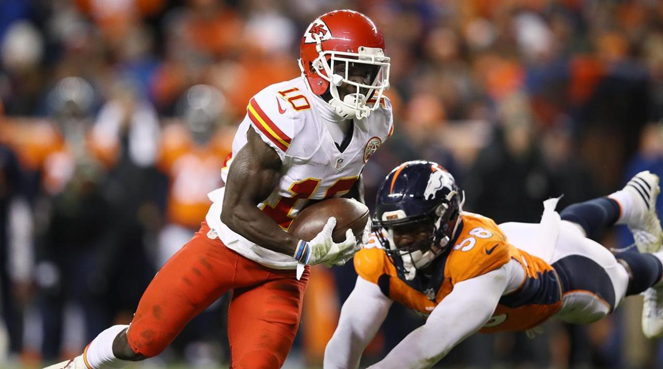 Who is Chiefs rookie Tyreek Hill?