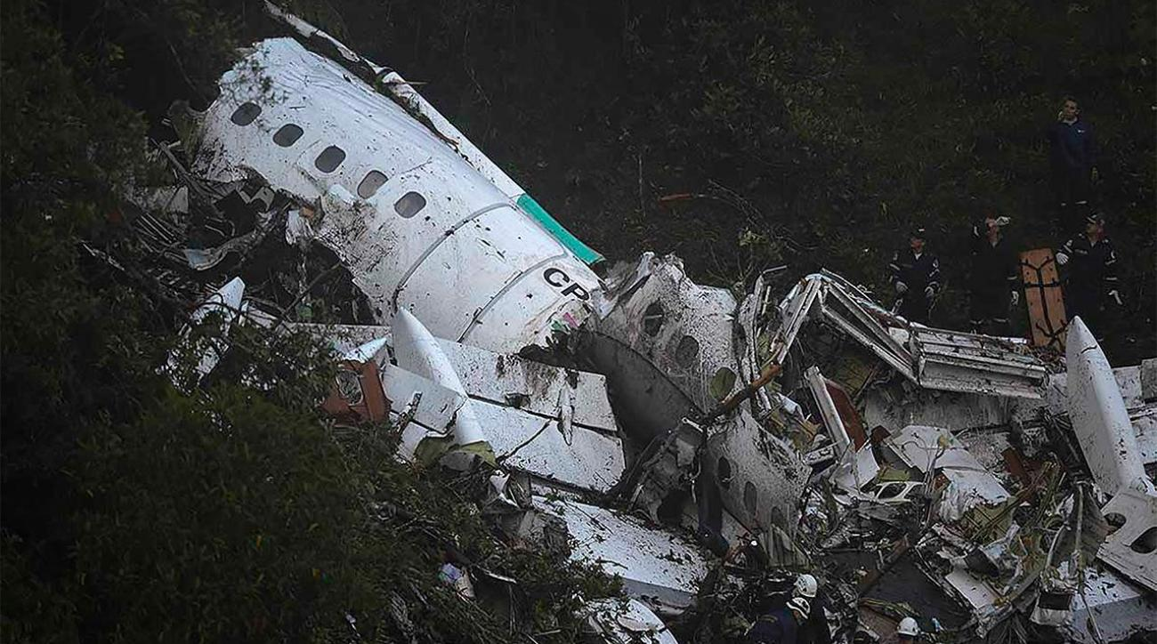 Plane Carrying Brazil's Chapecoense soccer team crashes  IMAGE