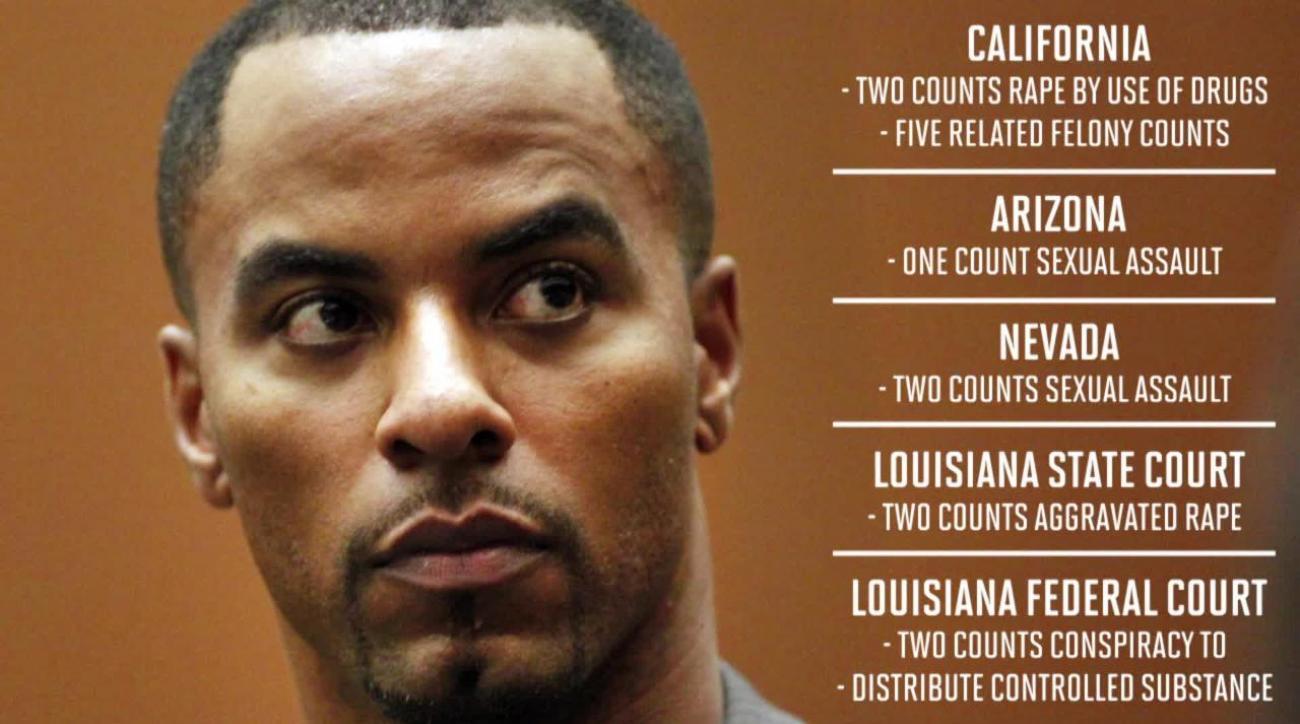 Darren Sharper sentenced to 20 years in prison for drug rapes