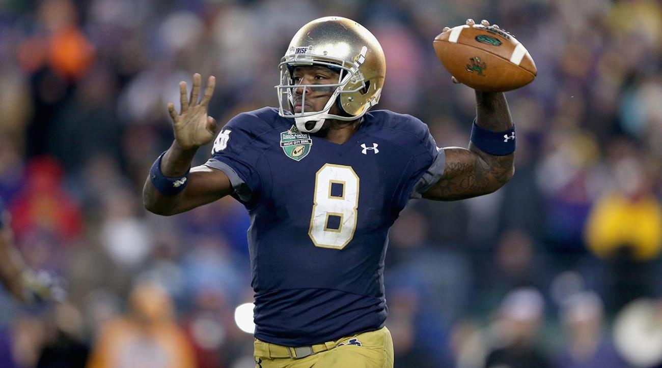 Report: Notre Dame's Malik Zaire expected to get release Wednesday
