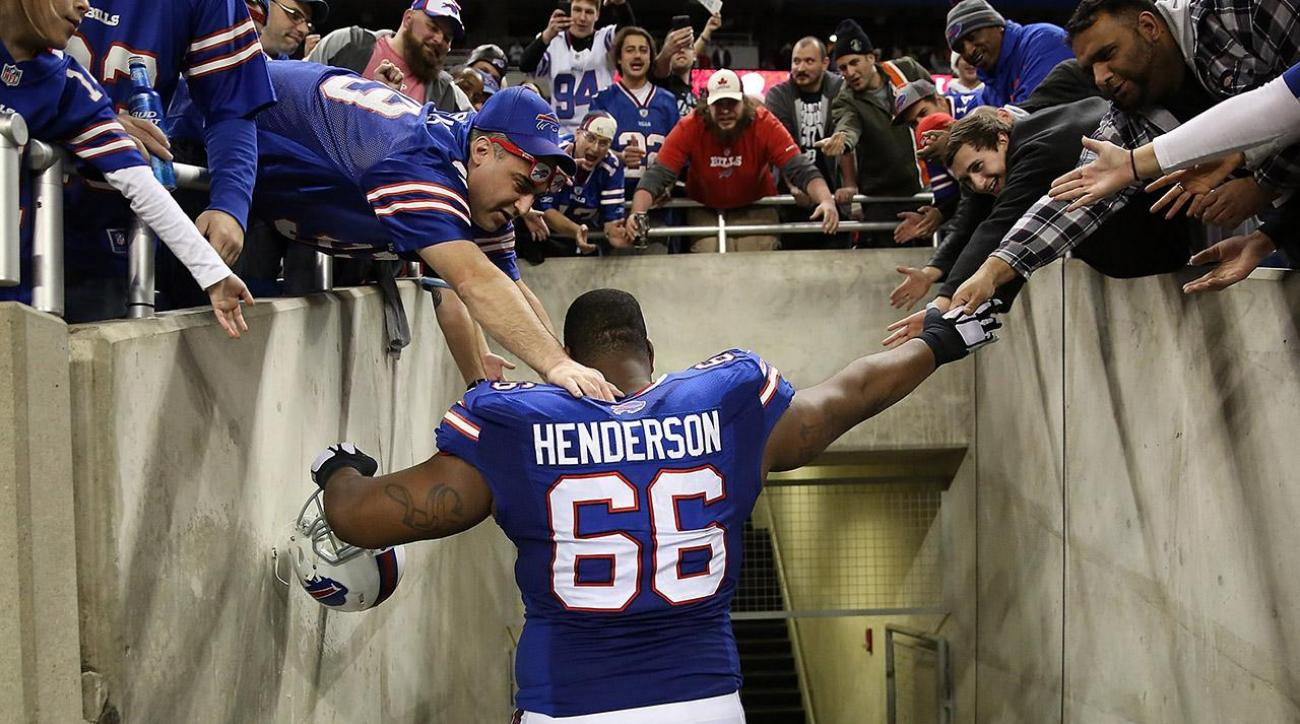 Bills tackle Seantrel Henderson could sue NFL over marijuana use
