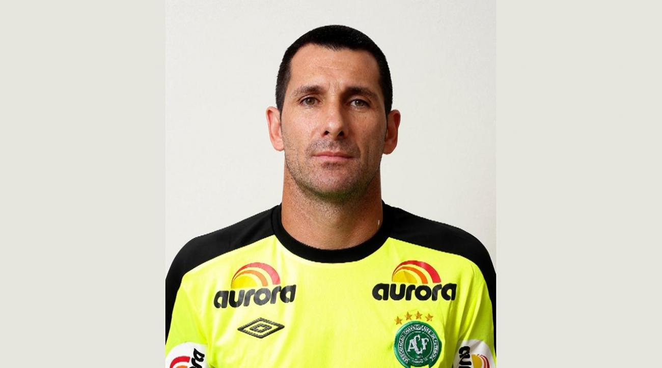 Chapecoense goalkeeper Nivaldo retires after tragic plane crash IMAGE