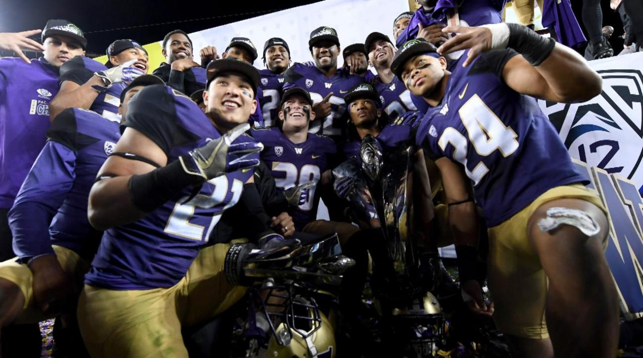 No. 4 Washington rolls over No. 8 Colorado for Pac-12 title
