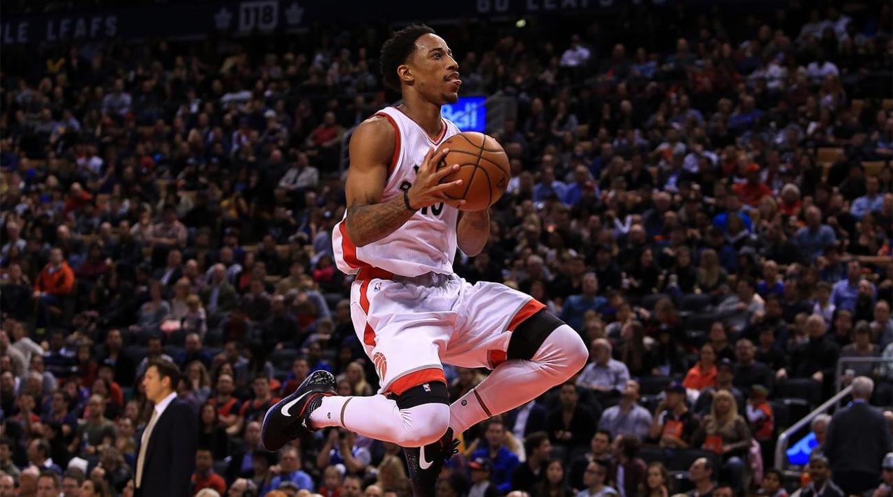 NBA Power Rankings: DeMar DeRozan leads Raptors hot start