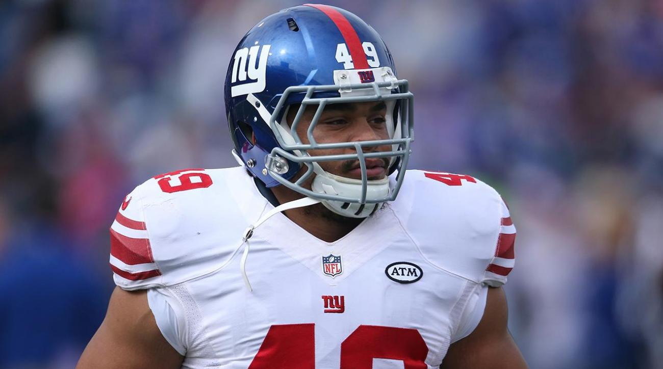 Giants fullback Nikita Whitlock says burglars left racist messages at home