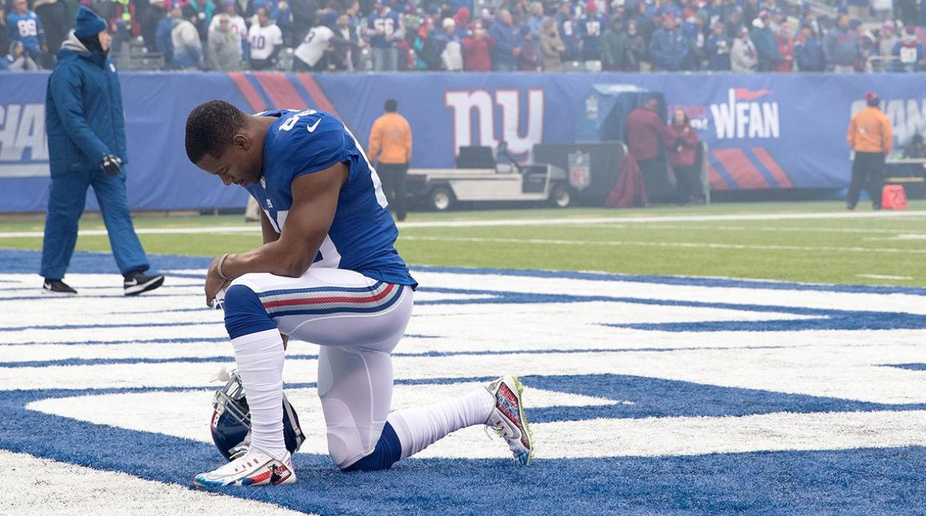 Victor Cruz: Racist vandalism of teammate's home stems from Donald Trump's rhetoric IMAGE