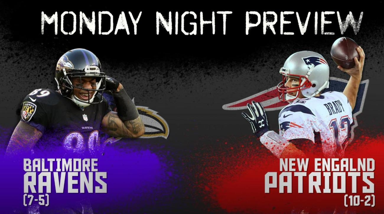 Monday Night preview: Ravens vs. Patriots