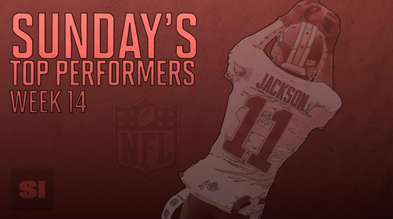 Sunday's Top Performers: Week 14