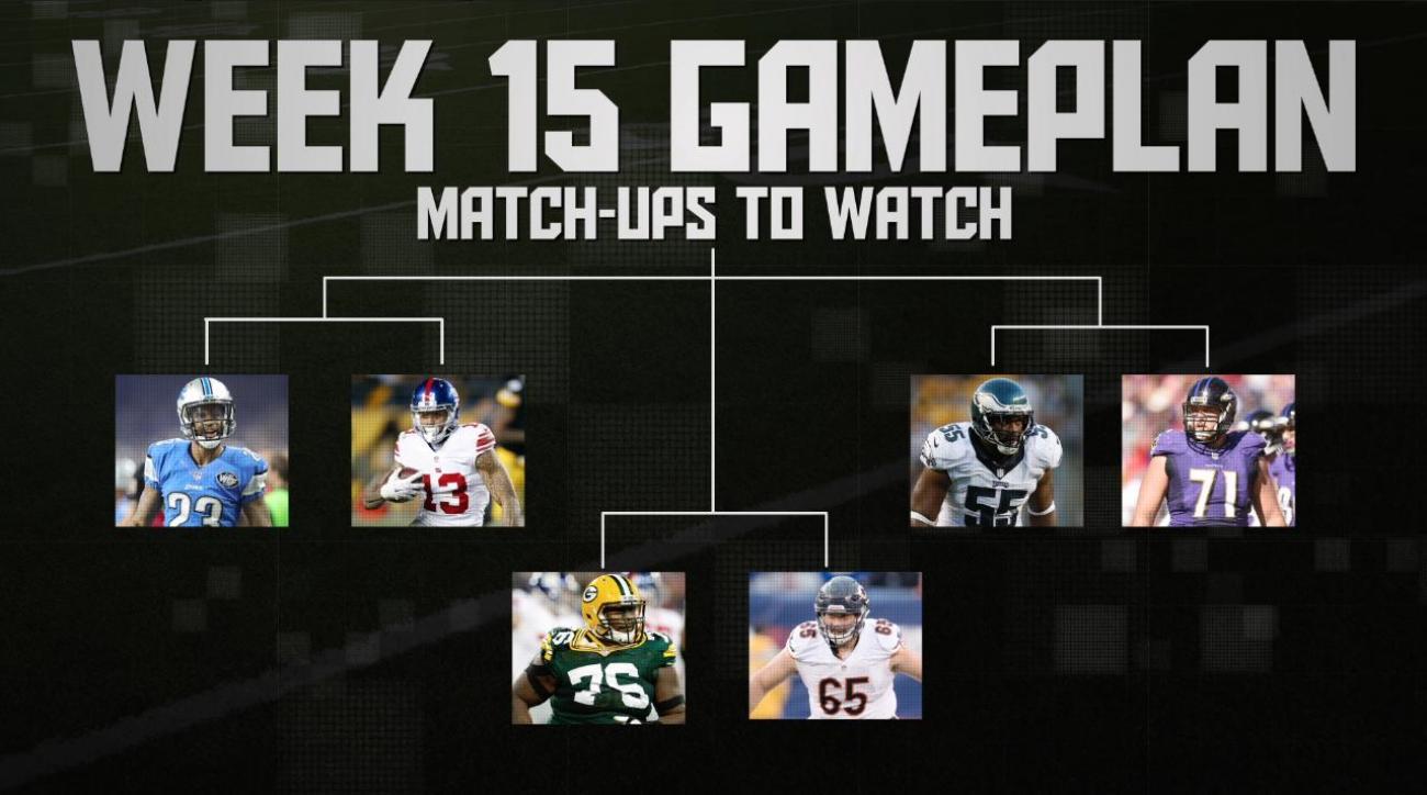 NFL's Week 15 Gameplan