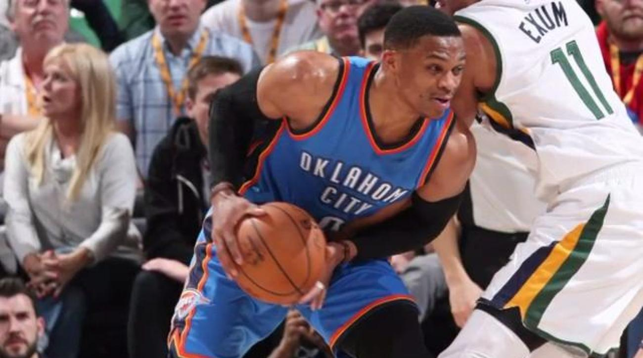 Russell Westbrook on triple-double talk: 'S--- don't mean nothing to me'