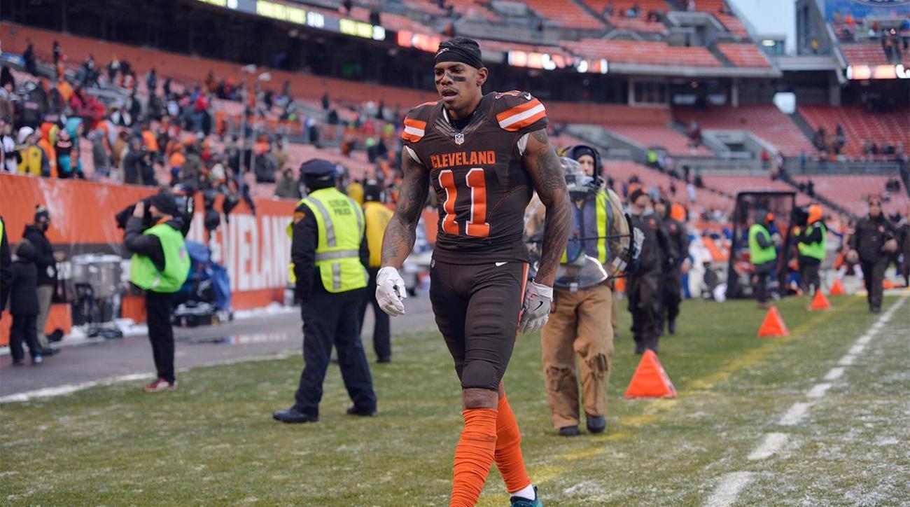 Terrelle Pryor agrees with Adam Jones: 'I was garbage'