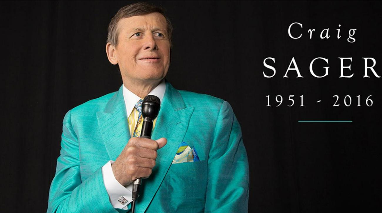 Legendary NBA broadcaster Craig Sager dies after battle with leukemia