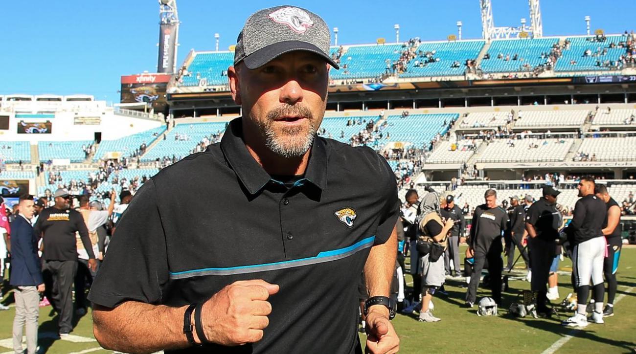 Jaguars fire head coach Gus Bradley