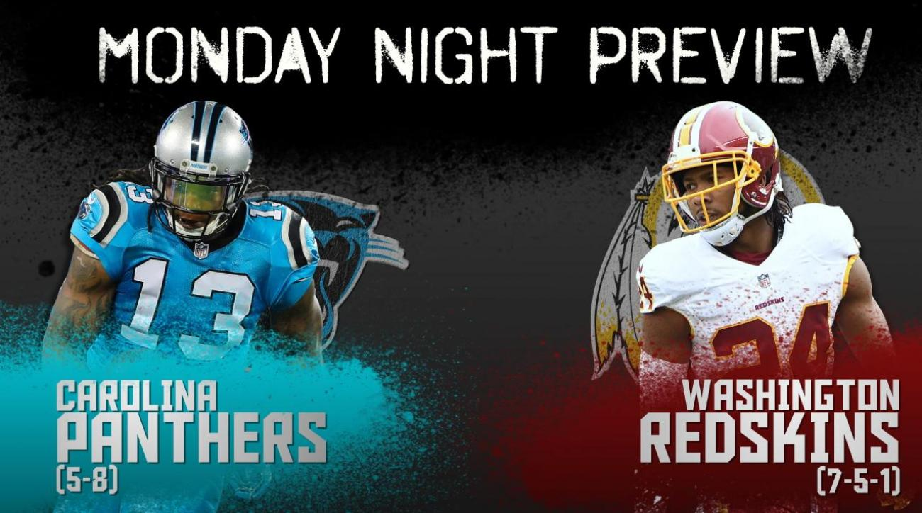 Monday Night preview: Carolina vs. Washington