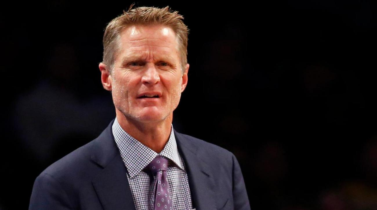 Steve Kerr blamed the millennials for the Warriors' slow start on Thursday