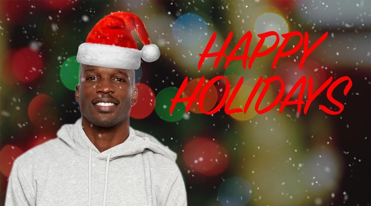 Chad Johnson is playing Santa Claus this Christmas