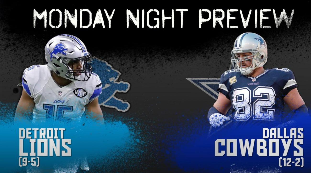 Monday Night preview: Lions vs. Cowboys