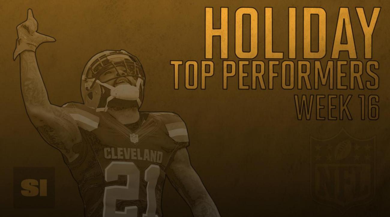 Holiday Top Performers: Week 16