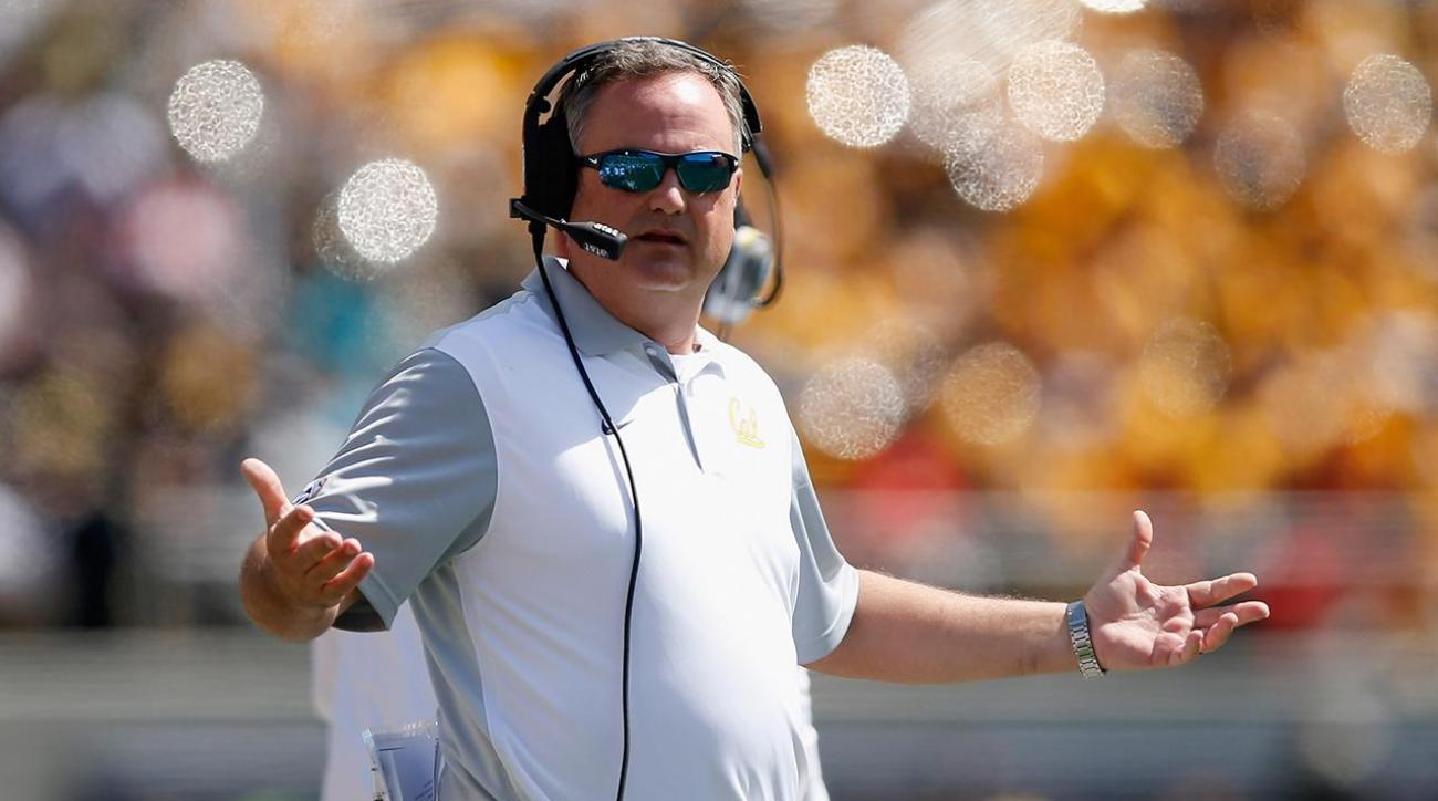 Cal fires head coach Sonny Dykes