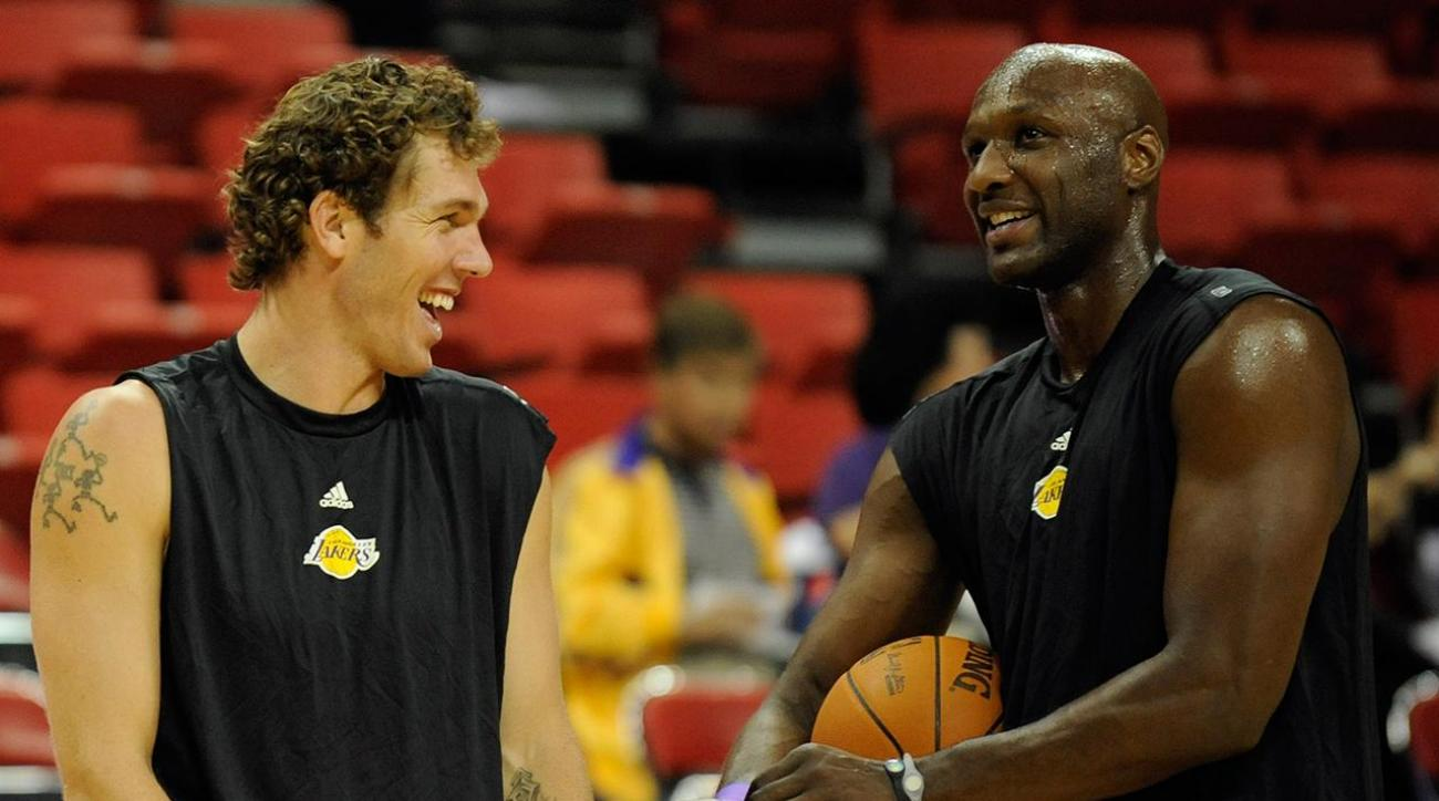 Luke Walton discussed coaching role for Lamar Odom