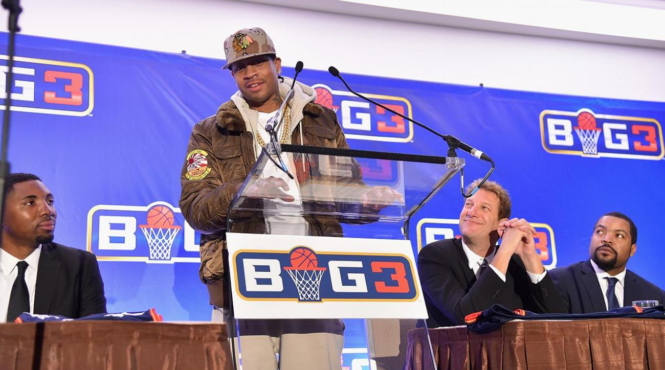 Allen Iverson will be a player/coach in Ice Cube's new 3-on-3 league IMAGE