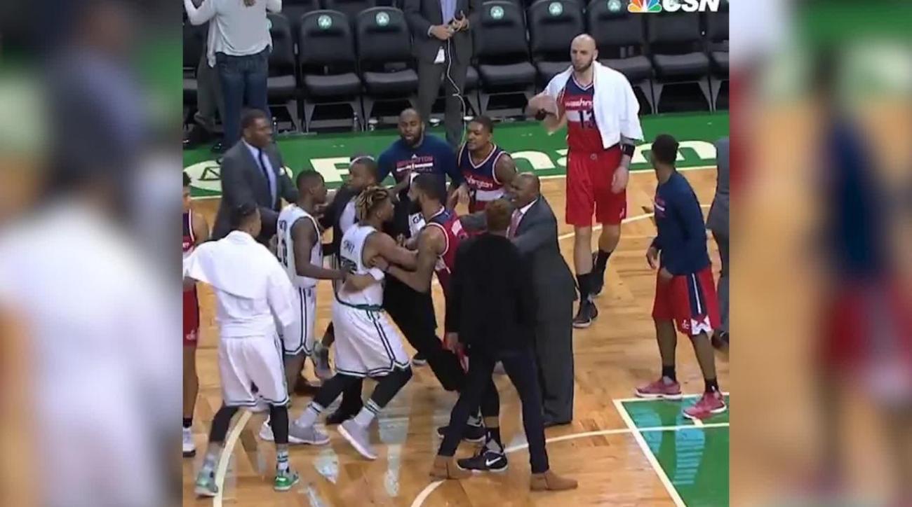 John Wall, Jae Crowder beef after Celtics beat Wizards