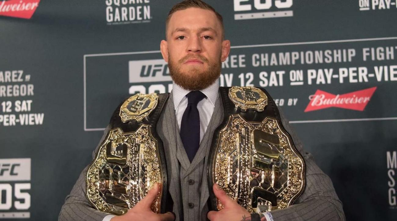 Conor McGregor calls out Floyd Mayweather on Twitter: 'Call me C.J. Watson'