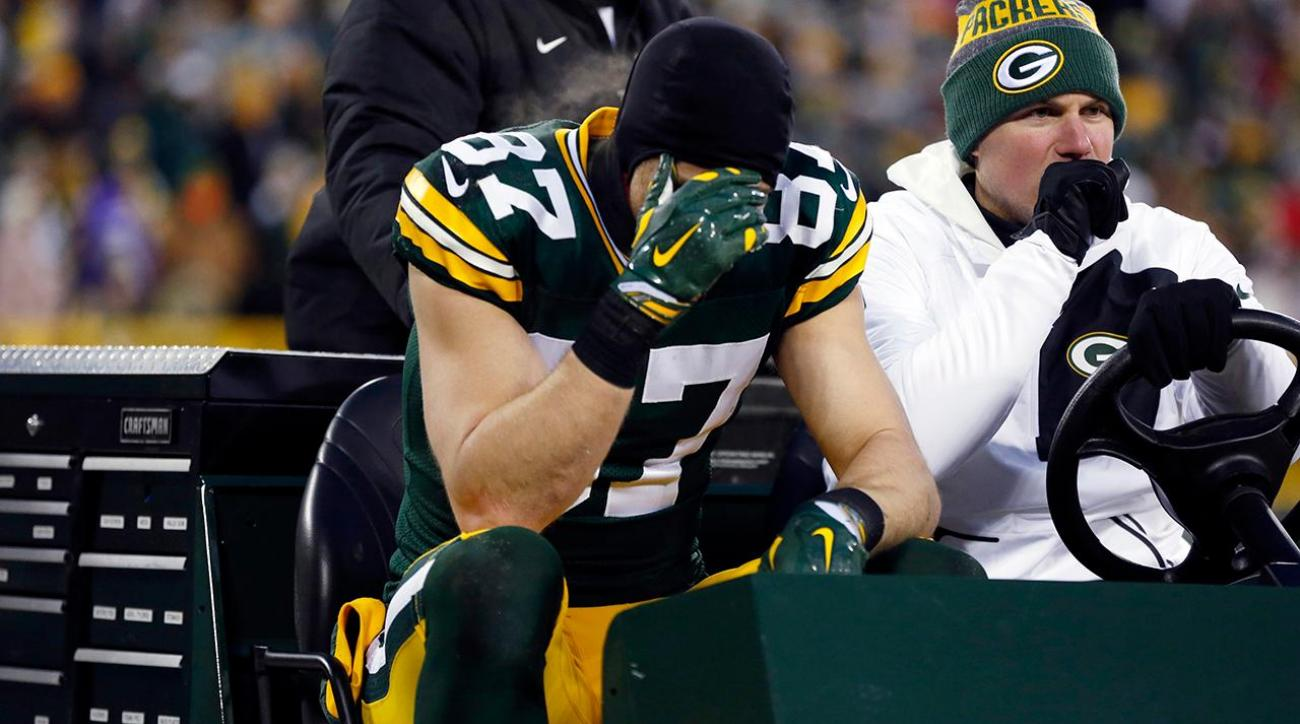Packers WR Jordy Nelson (ribs) ruled out vs. Cowboys