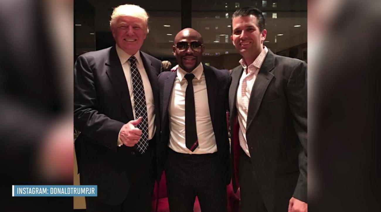 Floyd Mayweather says he's attending Donald Trump's inauguration