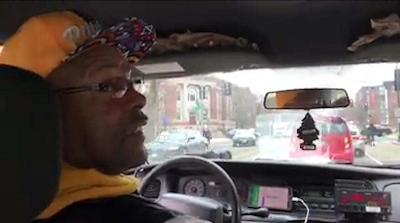 Cab driver says John Elway is greatest QB ever, has no idea he's in the back seat